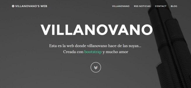 portada web villanovano